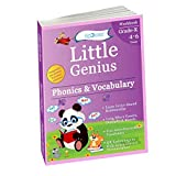 Phonics & Vocabulary II: Kindergarten Workbook (Little Genius Series): Learn Blend Sounds, Sight