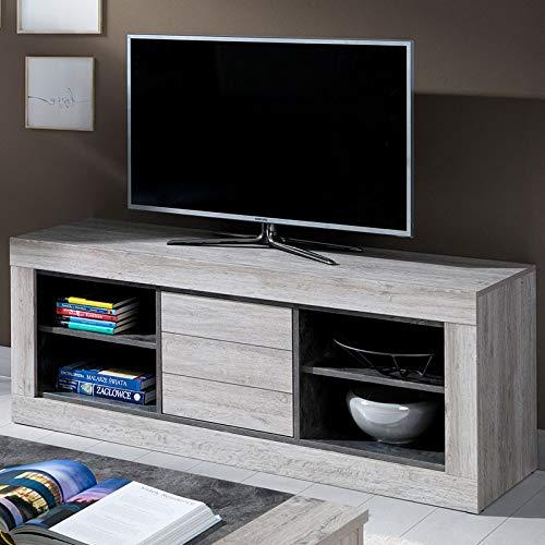 TV-meubel, modern, 150 cm, kleur: olijfhout