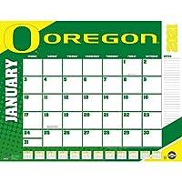 TURNER Sports Oregon Ducks 2021 22X17 デスクカレンダー (21998061495)