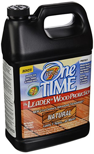 BOND DISTRIBUTING LTD 00200 00200 Gallon Natural Wood Stain/Sealer, 4 g
