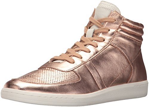 Dolce Vita Women's NATE Sneaker, Rose Gold Leather, 8.5 Medium US