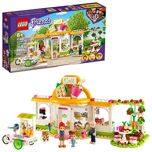 LEGO Friends Heartlake City Organic Café 41444 Building Kit; Modern Living Set for Kids Comes Friends Mia, New 2021 (314 Pieces)