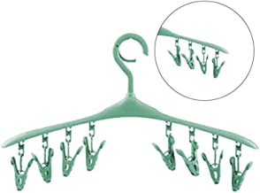 Winddicht Hanger Clip Multifunctionele Plastic droogrek Sokken Ondergoed Droogrek zcaqtajro