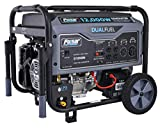 Pulsar 12, 000W Dual Fuel Portable G12KBN Generator, 12,000 Watt, Space Gray