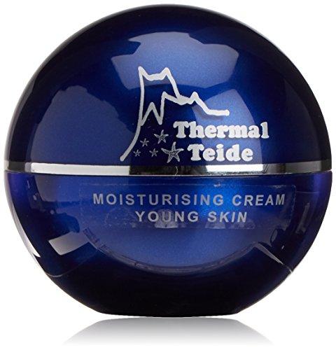 Thermal Teide 160200 - Crema hidratante para pieles jóvenes con extracto estrella de mar y agua termal, 50 ml