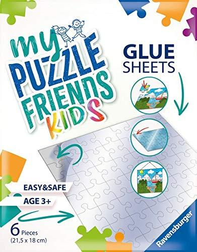 Ravensburger 13301 My Puzzlefriends Glue Sheets Puzzel-Kleber Klebepads für Kinder-Puzzel