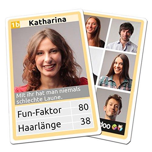 Personalisiertes Quartett - mit ihren eigenen Bildern und Werten!