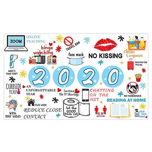 Jigsaw Puzzles 1000 Teile Puzzle Spielzeug,1000 Teile Spiel Puzzles,Weihnachtspuzzle Gedenken 2020 Puzzlepiele für Erwachsene Kinder, Klassische Familienspielsammlung (Papier, D)