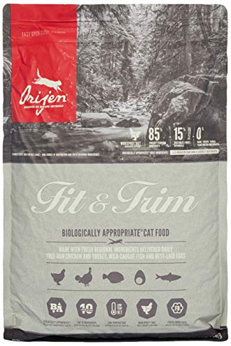 ORIJEN Fit & Trim cat food, 5.4 kg