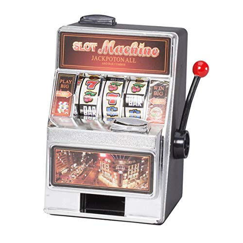 Fox Valley Traders Small Slot Machine and Bank