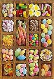 MTAMMD Puzzles Magasin De Bonbons Le Puzzle en Bois 500 1000 Pièces Jouets Éducatifs Ersion Puzzle Paysage Adultes Jouets Éducatifs-1000Pieces