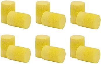 50pairs / Box Oordoppen Oor Classic Foam Zonder Koordje Disposable Voor Boor Slijpen Machining Zagen Geel