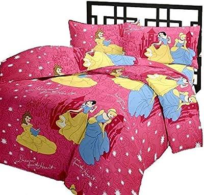 Shopnetix Super Soft Long Lasting & Comfortable Princess Cartoon Printed Reversible Microfiber Single Bed AC Blanket/Dohar