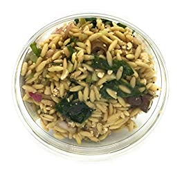 Whole Foods Market, Salad Pasta Orzo Spinach Chef's Case