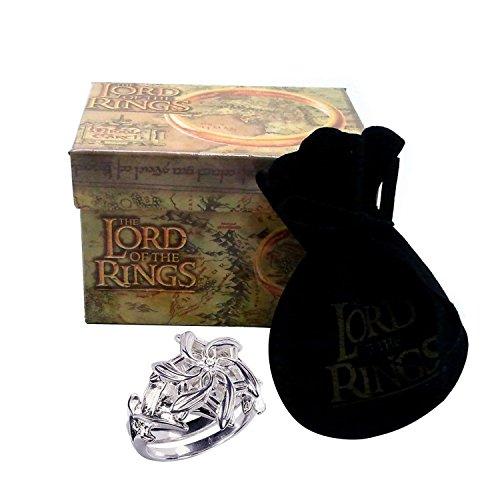 Medioevo El Señor de los Anillos - Anillo de Galadriel 18mm - Lord of The Rings Replica Oficial