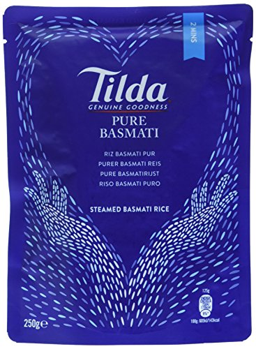 Tilda Steamed Basmati Rice, 6er Pack (6x250g)