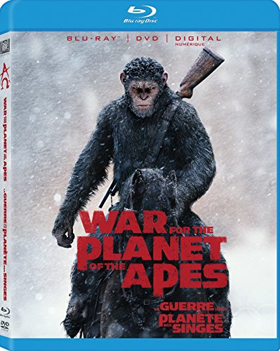 War For The Planet Of The Apes (Bilingual) [Blu-ray + DVD +...