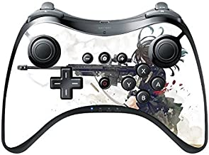 Anime Sniper Girl Wii U Pro Controller Vinyl Decal Sticker Skin by Demon Decal