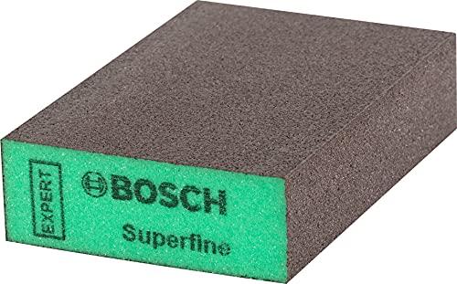 Bosch Professional 1 x Tacos & quot, Expert S471 & quot, convencionales, para Madera blanda, Pintura sobre madera, 69 x 97 x 26 mm, Grado de finura superfino, Accesorios Lijado manual