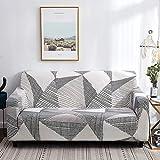Funda de sofá de Sala de Estar con patrón Simple, Funda de sofá Lavable a Prueba...