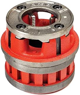 RIDGID 37390 Model 12-R Hand Threader Die Head, Alloy Right-Handed NPT Die Head for Nominal Pipe Size of 1/2-Inches