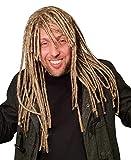 HandinHand Creations Dreadlock Wig For Men Hippie Gangster Beach Bum Reggae Rasta Man Homeless Dreads Costume