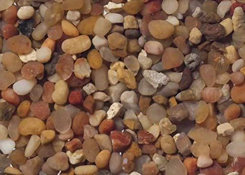 Carib Sea ACS00877 Gemstone Creek Gravel for Aquarium, 50-Pound