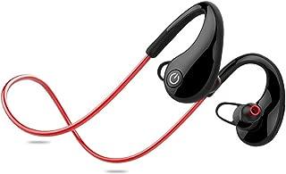Bluetooth Earphones & Headphones,pgmrw23h Wireless Bluetooth Fitness Running Waterproof Headset Stereo Music Earphone - Red