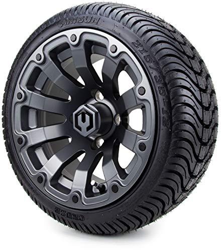 "12"" MODZ Bomber Matte Wheels & Tires"
