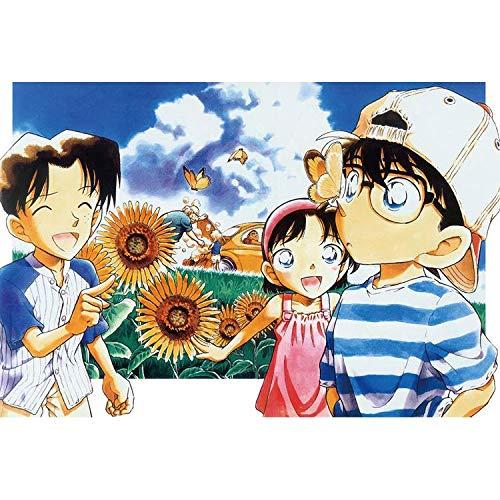 QINGQING Detective Conan difíciles Rompecabezas Rompecabezas 300/500/1000 Grandes Piezas Juego de Puzzles for Adultos Adolescentes (Size : 500)