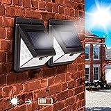 SPV Lights 40 LED Lampe Solaire Extérieur - Détecteur de Mouvement éclairage...