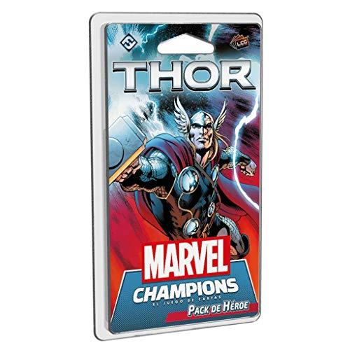 Fantasy Flight Games- Marvel Champions - Thor Hero Pack, Color (MC06ES)