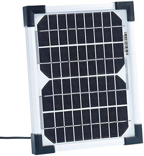 revolt Kleines Solarpanel: Mobiles Solarpanel mit monokristalliner Solarzelle 5 W (Solarplatte)