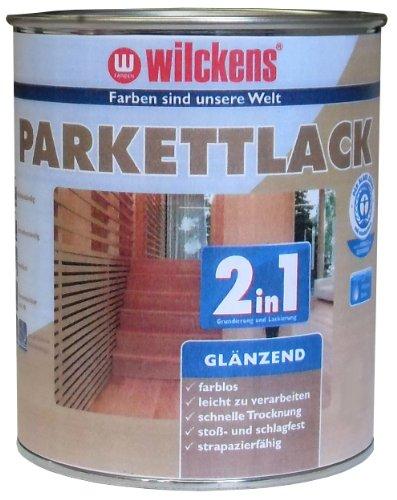 Wilckens 2in1 Parkettlack glänzend, farblos, 2,5 Liter 10400100080