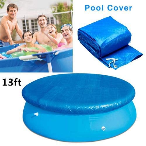 Cubierta de piscina Piscina redonda Tela de tierra Cubierta a prueba de lluvia a prueba de