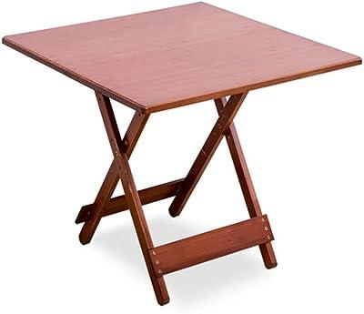 AJZXHE pequeña Mesa Mesa Plegable, Mesa de Ordenador, Mesa de ...