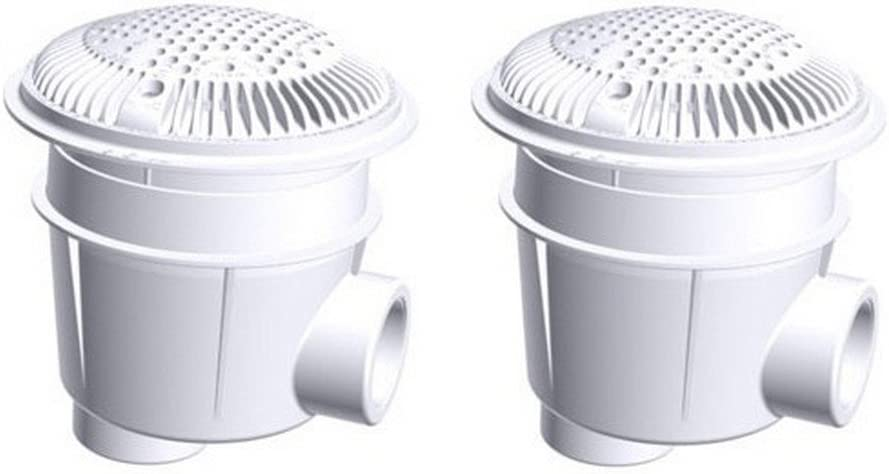 Hayward 2021new shipping free WG1053AVPAK2 Regular discount 1-1 2-Inch White Co Outlet for Suction Dual