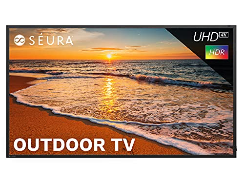 Seura Full Sun Series 85-Inch 4K UHD HDR Weatherproof LED Outdoor TV