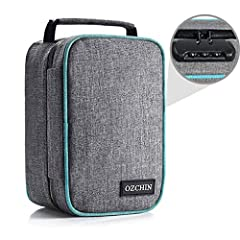 【ODOR FREE ALWAYS DISCREET】Featuring advanced Carbon Linings that will Keep your stash items fresh, flavorful and secure. No odors will break from this odor proof bag. Lined with 8 activated carbon fiber layers and water-resistant nylon fabric to loc...