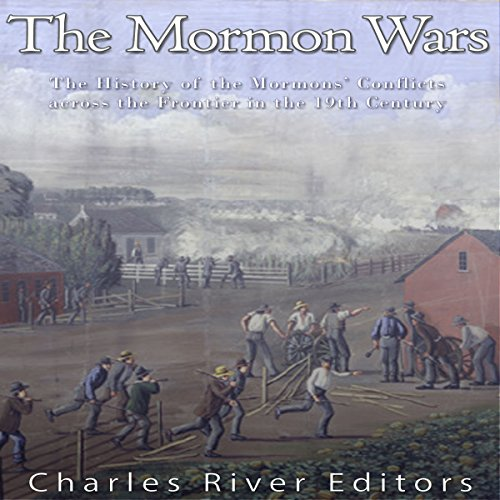 The Mormon Wars audiobook cover art