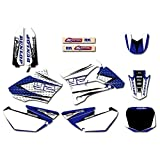 Adhesivo de Motocross Modificado GRÁFICOS amp;Fondos Kits de la Etiqueta engomada for Yamaha YZ YZ85 2002 2003 2004 85 2005 2006 2007 2008 2009 2010 2011 2012 2013 2014