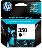 HP 350 Schwarz Original Druckerpatrone für HP Deskjet, HP Officejet, HP Photosmart