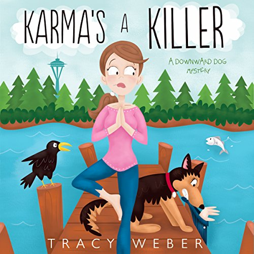Karma's a Killer audiobook cover art