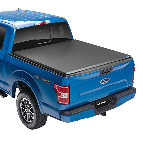 Lund Hard Tri-Fold, Hard Folding Truck Bed Tonneau Cover | 969361 | Fits 1973 - 1996 Ford F-150 6' 5' Bed