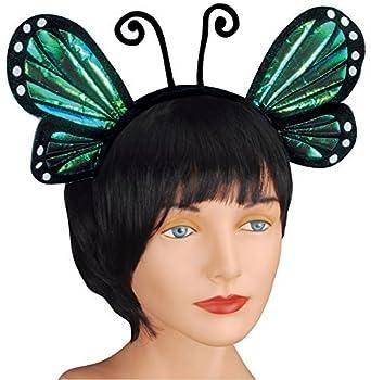 Loftus International Butterfly Antenna with Wing Headband Blue One Size