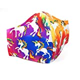 Product Image of the Chic Adorable Cotton Fashion Kids Face Covering Breathable 3 Layers Reusable...