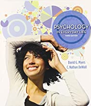 By David G. Myers Psychology in Everyday Life & LaunchPad 6 month access card (Third Edition) [Paperback]