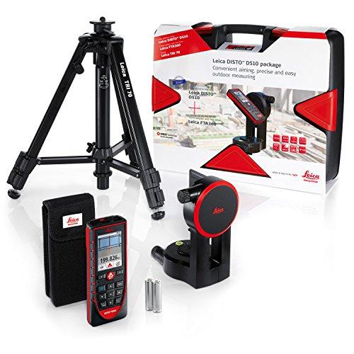 Leica DISTO D510 Paket - Laserdistanzmesser-Set für präzises Anzielen und Messen