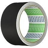 ニトムズ プロセルフ アルミテープブラックつやなし 簡単防水 補修 キズ隠し 金属 屋外  幅50mm×長さ10m×厚さ0.1mm 1巻入 黒 J3270