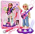 "Click N' Play Interacting Karaoke Sing-Along Performance Stage Perfect for 18"" American Girl Dolls from Click N' Play"
